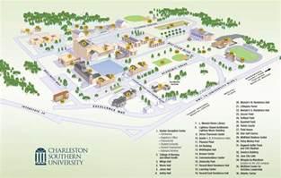 cus map charleston southern