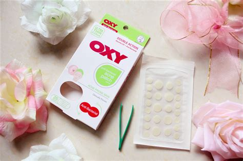 Oxy Anti Bacterial Patch travel lifestyle thechency s diary skincare