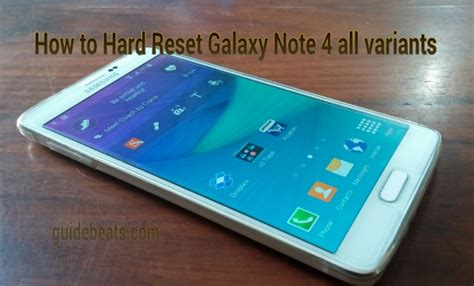 factory reset the note 4 how to hard reset samsung galaxy note 4 and factory restore