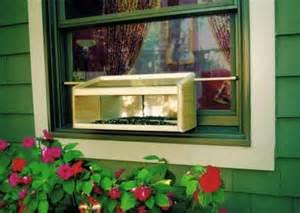 windowsill bird feeder coveside conservation mirrored windowsill feeder