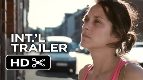 french film one day two nights two days one night official uk trailer 1 2014 marion