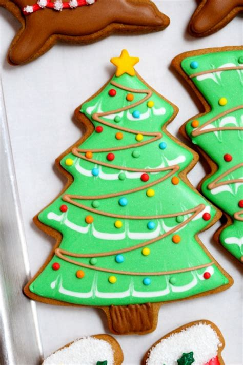 christmas decorating ideas cookie outdoor tree christmas cookies sweetopia