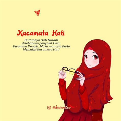 gambar kartun islami  gambar kartun