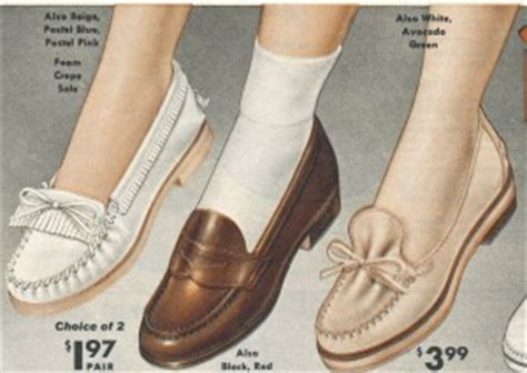 boats and hoes socks 1950s shoe styles history and shopping guide