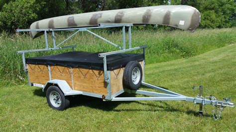 canoes trailers 4 place kayak canoe utility trailers for sale remackel
