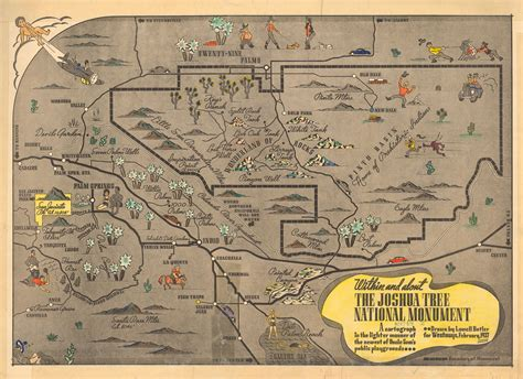 joshua tree park map citydig it took forever for angelenos to notice the