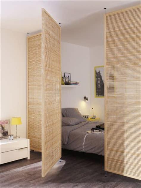Bien Cloison Amovible Pour Chambre #1: cloison-pivotante-en-bois-pour-separer-coin-chambre.jpg