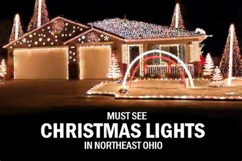 lights in ohio must see light displays in northeast ohio