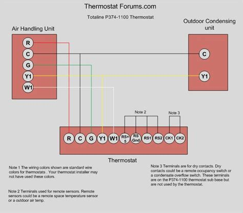 totaline thermostat wiring diagram totaline p374 wiring diagram