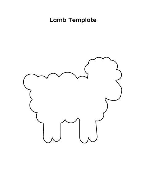 25 best ideas about lamb template on pinterest ja ja ja