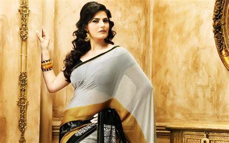 zarine khan 3d wallpaper stunning beauty zareen khan in saree new hd wallpapernew