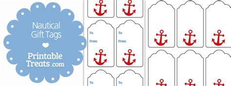 printable nautical name tags nautical gift tags printable treats com