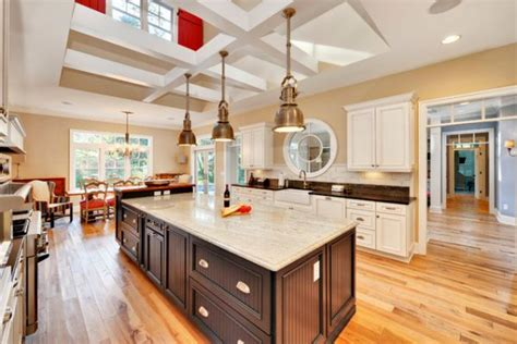 huge kitchen island 10 industrial kitchen island lighting ideas for an eye