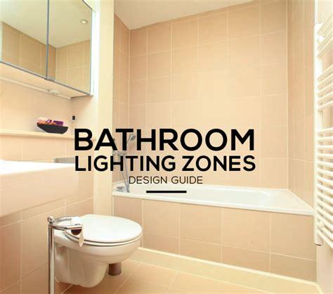bathroom lighting zones explained ip ratings zones and