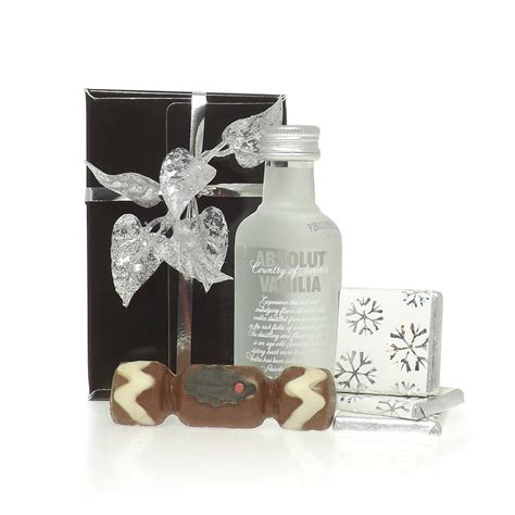 buy absolut vanilla christmas gift box absolut vanilla