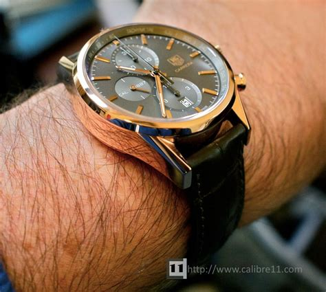 Tag Heuer Space X Rosegold on review ch1887 gold the home of