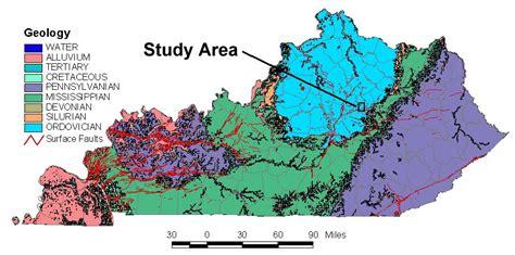 kentucky geologic map trenton black river introduction kentucky geological survey