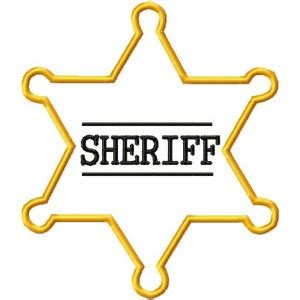 sheriff badge plasticsheriff badge sheriff badgepin 点力图库