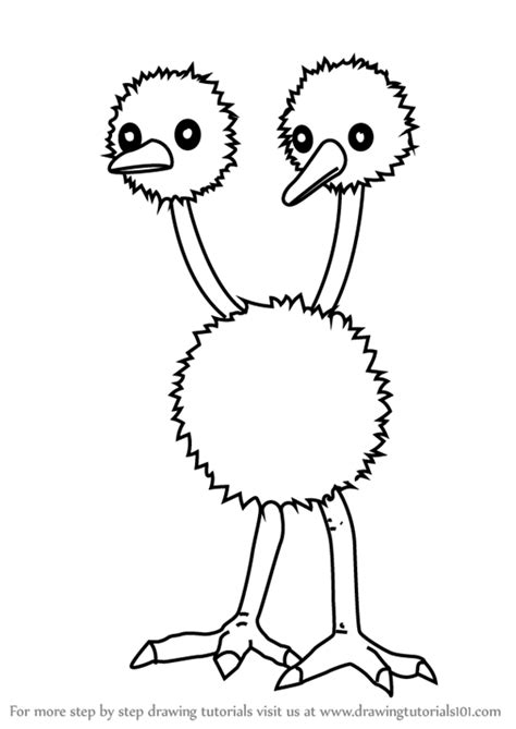 doodle drawing tutorials learn how to draw doduo from go go step