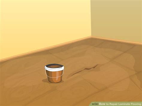Laminate Floor Repair 3 Ways To Repair Laminate Flooring Wikihow