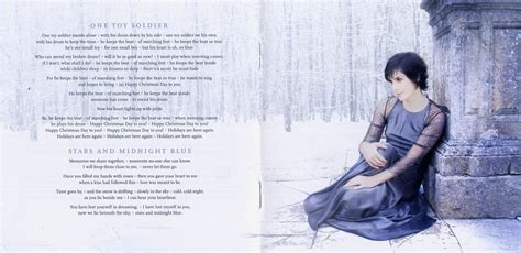 copertina cd enya and winter came booklet 3 6 cover