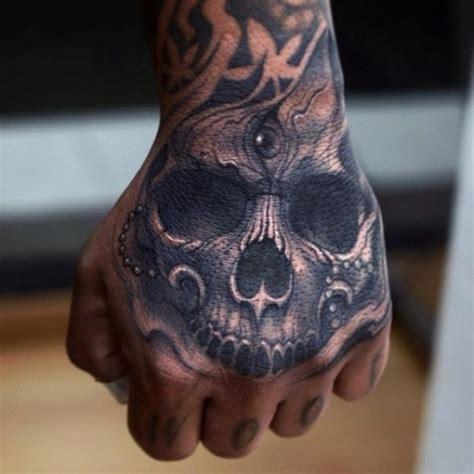 skull tattoo designs for hands 30 designs for boys and
