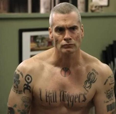 nazi tattoo on chest movie henry rollins top 5 douchiest tough guy roles all shook