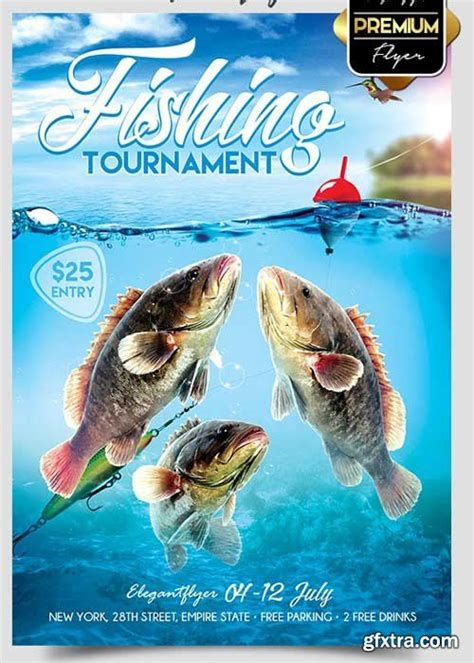 fishing tournament flyer template 1000 images about flyer on business flyer