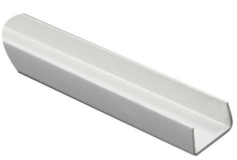 Kitchen Bars Ideas by White Pvc U Profile H 10mm W 18mm L 1m Departments