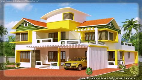 house paint and design kerala style house painting design youtube