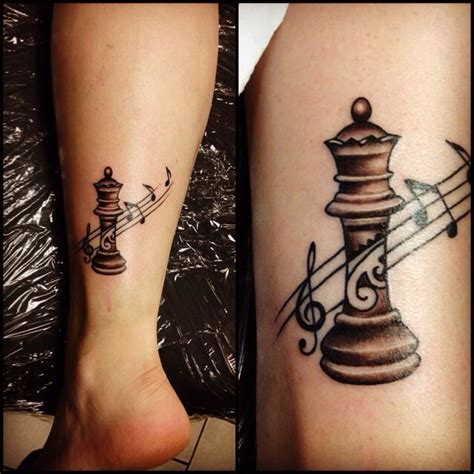 chess piece tattoos 17 best images about chess on of