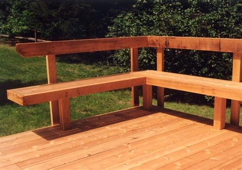 decks with benches built in built in deck seating wooden deck benches built deck
