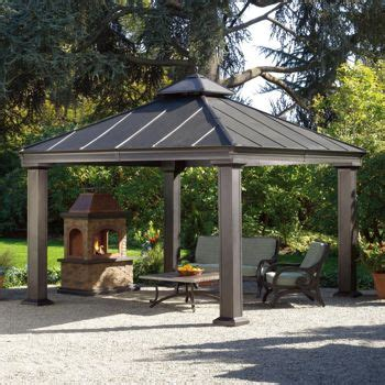royal hardtop gazebo sunjoy 12 ft x 12 ft royal square hardtop gazebo ask