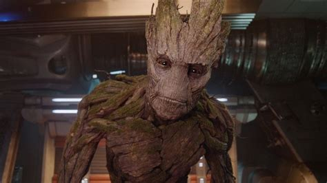 groot cosplayer drops jaws  custom suit polygon