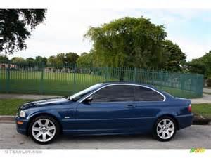 mystic blue metallic 2003 bmw 3 series 325i coupe exterior