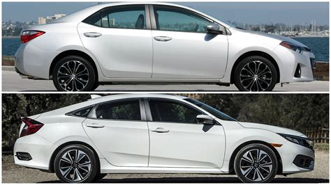 Toyota Civic 2016 Honda Civic Vs Toyota Corolla