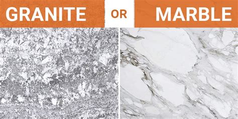 granite vs marble for the kitchen how to decide