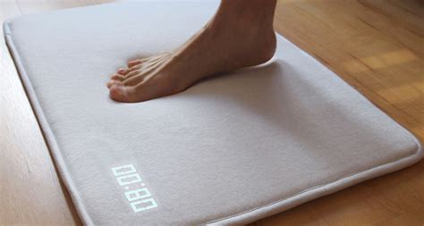 this talking alarm clock rug will ensure you never up