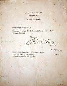 Richard Nixon Resignation Letter by Simple Resignation Letter Cafemom Answers