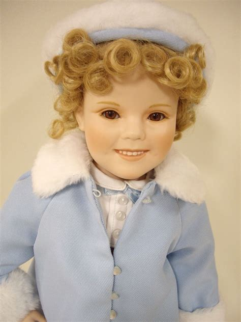 porcelain doll 18 inch shirley temple 18 quot inch porcelain doll