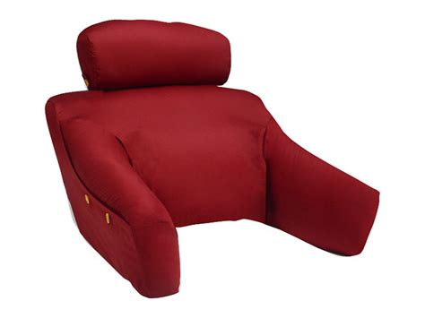 pillow for back support in bed bedlounge back support pillow w cover bedlounge