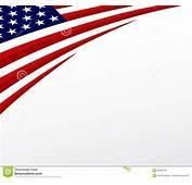 Bandera De Los EEUU Estados Unidos Se&241alan El Fondo