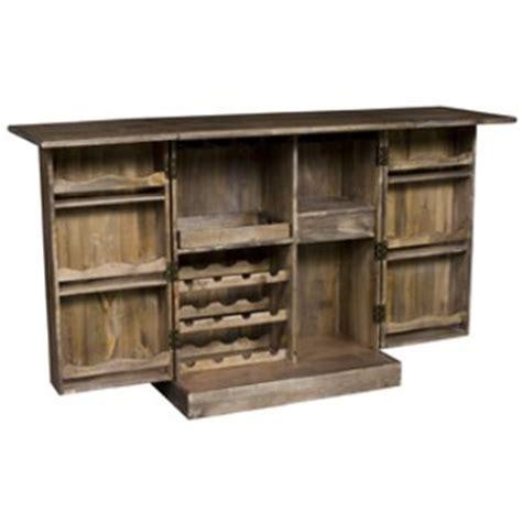 solid poplar wood bar cabinet expandable wine bar cabinet