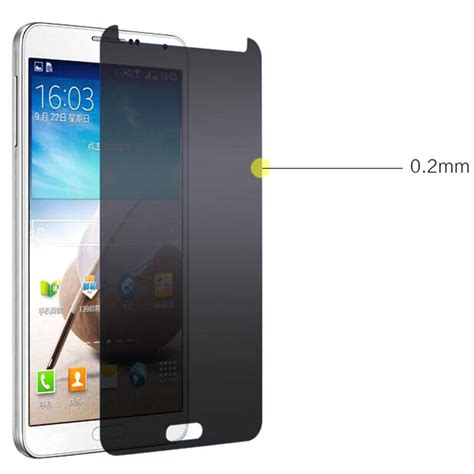 Anti Goreskacascreen Guardtempered Glass For Samsung Note Edge anti privacy tempered glass screen protector for samsung note 5 s7 s6 edge