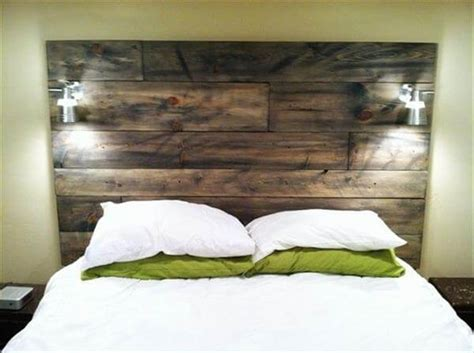 wood headboard diy 15 unique diy headboard ideas newnist