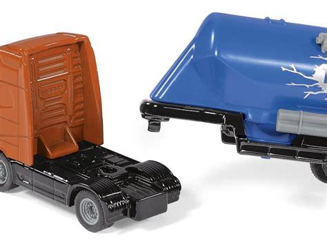 Siku Truck With Silo Traller siku volvo fh16 truck with silo trailer orange blue