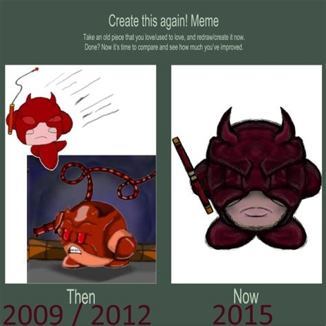 Daredevil Meme - redo meme daredevil kirby by dragonfire53511 on deviantart