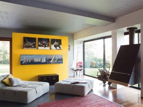 Deco Mur Jaune by Decoration Salon Mur Jaune