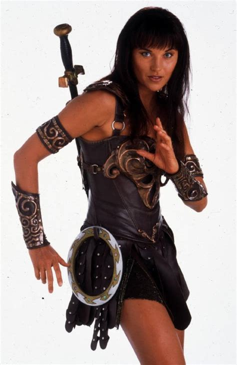 lucy lawless how old is she lucy lawless remains a warrior in the code on abc tv