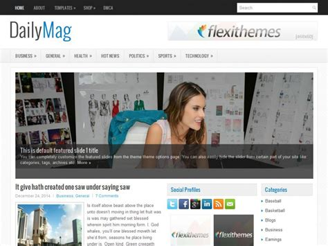 free wordpress themes zip files download flexithemes